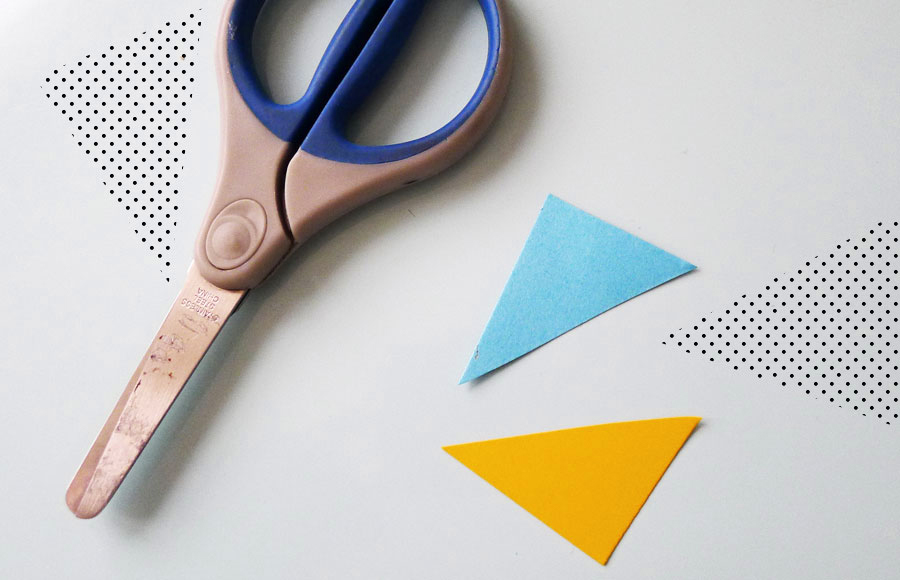 Make a paper ring step 1