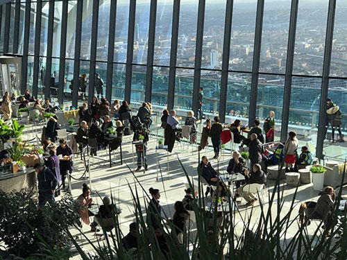 Skygarden in London