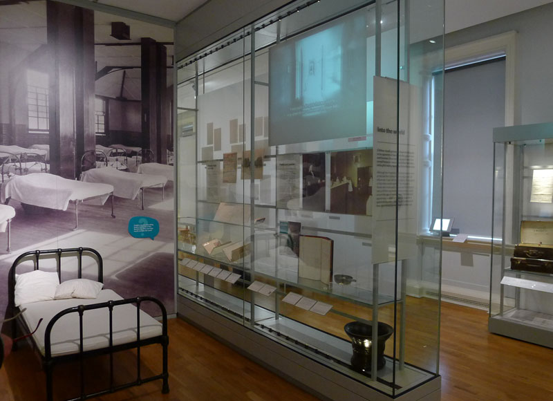 Inside the Foundling Museum London